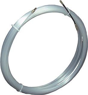 Aiguille Tire-Fils Nylon 15 m/ètres diam/ètre 4 mm avec t/ête Flexible de Guidage et oeuillet de tirage d/émontable APIEX