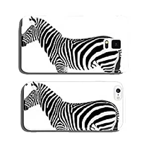 detailed illustration of zebra - vector cell phone cover case Samsung S5
