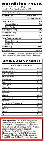 Big Lift Nutrition Protein Supplement, Chocolate, 10 Pound