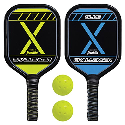 - Franklin Sports Pickleball Performance (2) Player Aluminum Paddle & Ball Set - USAPA Approved