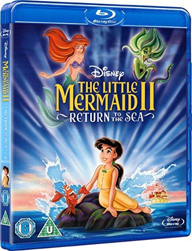 Adventures Little Mermaid (The Little Mermaid 2 - Return to the Sea- [Blu-ray] [Region Free])