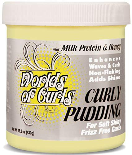 World of Curls Pudding 15.2 oz. (World Of Curls Activator Gel Natural Hair)
