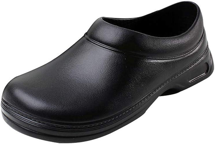 Haobing Unisex Kitchen Footwear, Grease