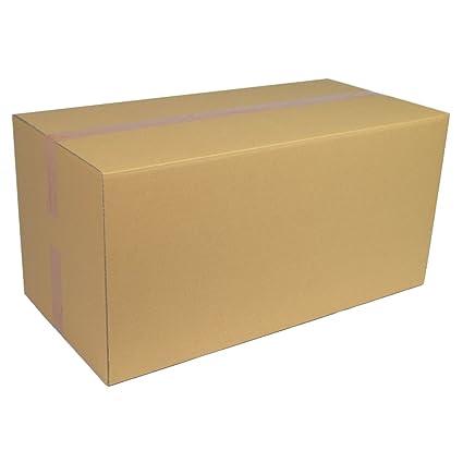 40 Wellpapp Falt Karton 1-wellig 21 x 15 x 13,7 cm braun stabil zum Versand