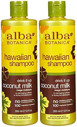 Alba Botanica Hawaiian Extra-Rich Hair Wash - Coconut Milk - 12 oz - 2 pk