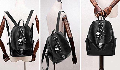 sac maman dos loisirs cartable en sac Mode étudiant sac souple imperméable dos à Mme à cuir RgUWqd