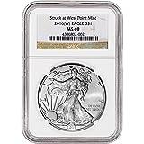 2016 (W) American Silver Eagle (1 oz) $1 MS69 NGC