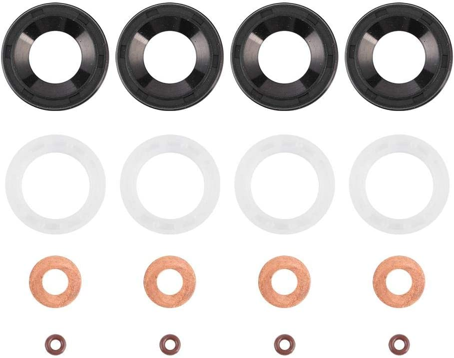 kit de rondelle de joints dinjecteur Diesel 1233683 198185 adapt/é pour C-MAX Kit de rondelle de joints de voiture