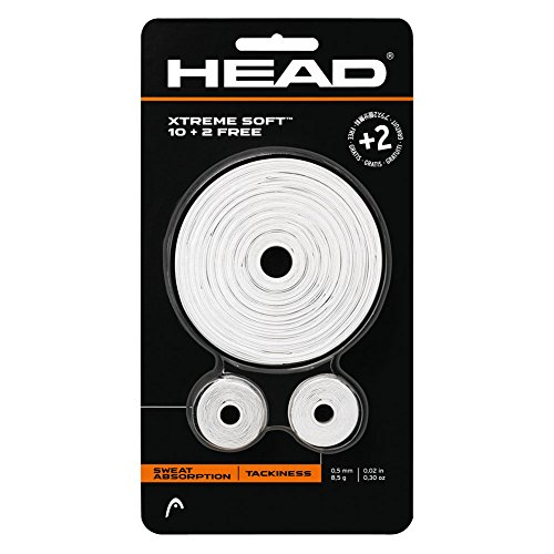 - Head XTreme Soft (10+2) Overgrip (White)