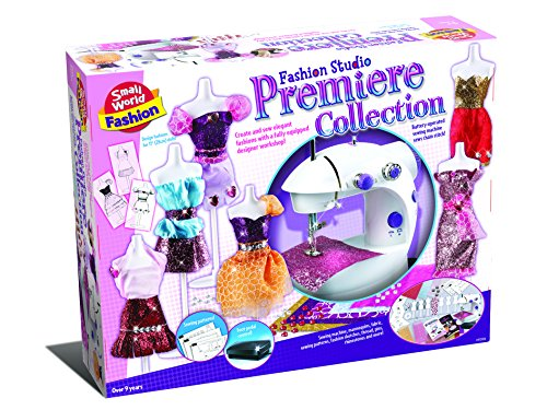 Small World Toys Fashion - Fashion Studio Premier Collection Sewing - Premier Collection