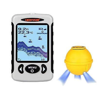 Amazon Com Fish And Depth Detector Wireless Charging Fish