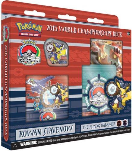 "2015 Pokemon World Championships Deck - Rowan Stavenow ""The Flying Hammer"" (Pokemon Tcg World Championships)"