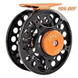 Fiblink Fly Fishing Reel with Large Arbor 2+1 BB, CNC Machined Aluminum Alloy Body and Spool (5/6 Wt) Review