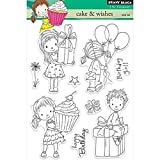Penny Black Cake and Wishes Decorative Stamp