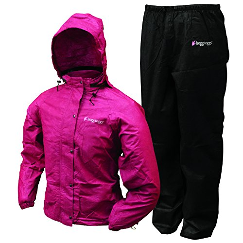 Frogg Toggs All Purpose Women's Rain and Wind Suits, Cher...