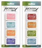 Wendy Vecchi Mini Archival Ink Pads - Kit #3 and Kit #4 - Bundle