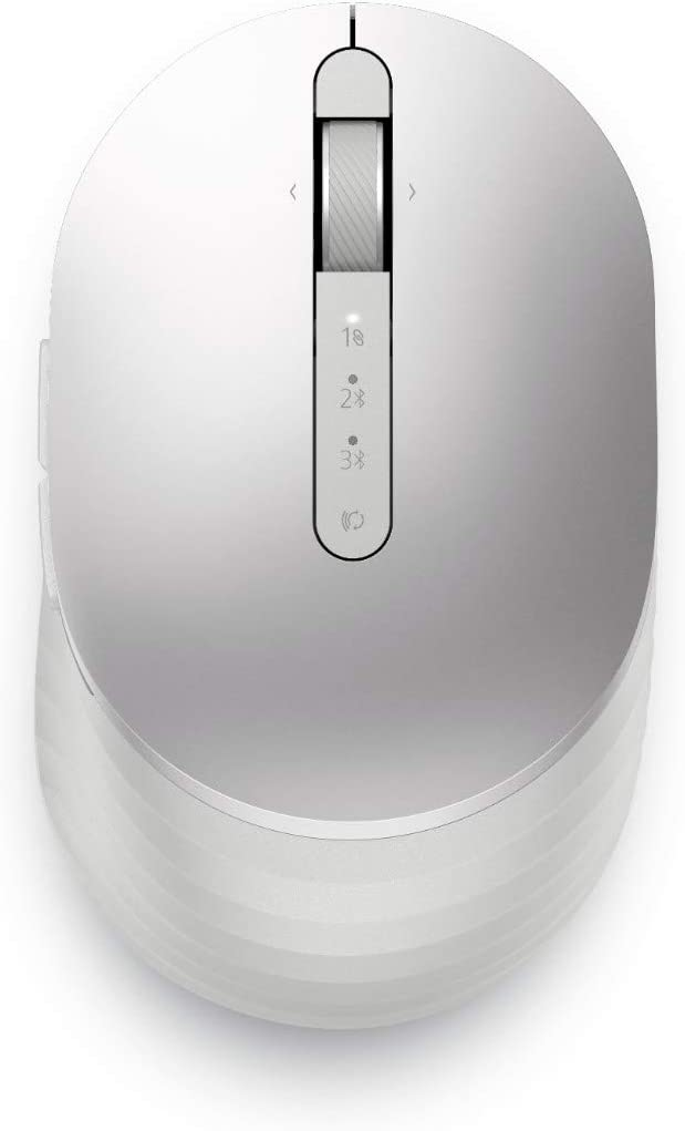 Dell Premier Rechargeable Wireless Mouse - MS7421W, Platinum Silver