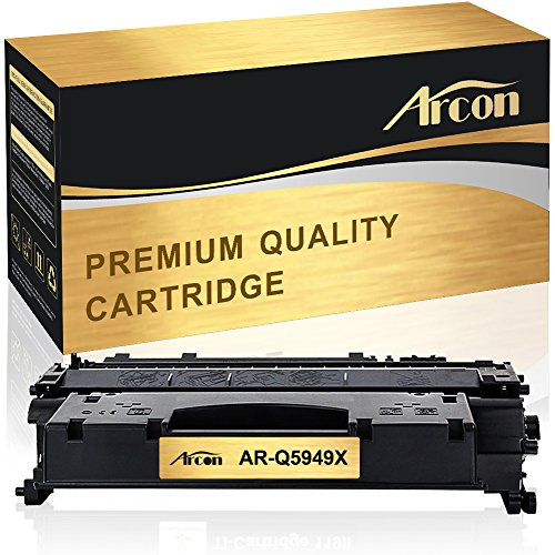Arcon Compatible HP 49X Q5949X HP 53X Q7553X Toner Cartridge for HP Laserjet 1320, HP Laserjet P2015, HP Laserjet 1320n, HP Laserjet p2015dn, HP Laserjet 3390 M2727nf M2727 P2015d 53A Printer Toner (P2015dn Hp Laserjet Printer)