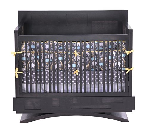 Capretti Design Milano Convertible Crib, Natural