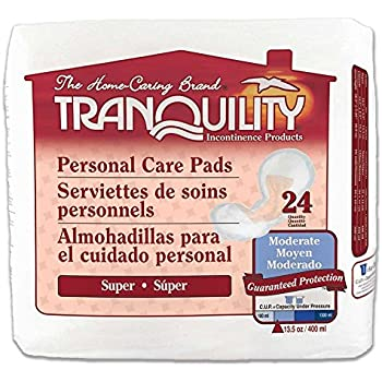 Tranquility Personal Care Pad - Super Absorbency - CASE/96 (Super Absorbency)