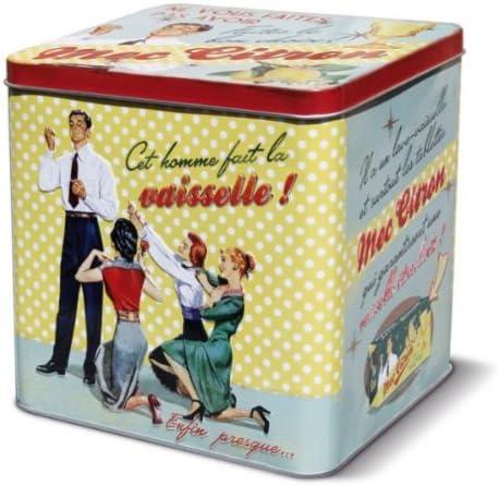 Plaisirs de France 211234 - Caja metálica para Pastillas ...