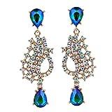 Luxury Wedding woman for Cystal and Acrylic Bohemin dangle earring