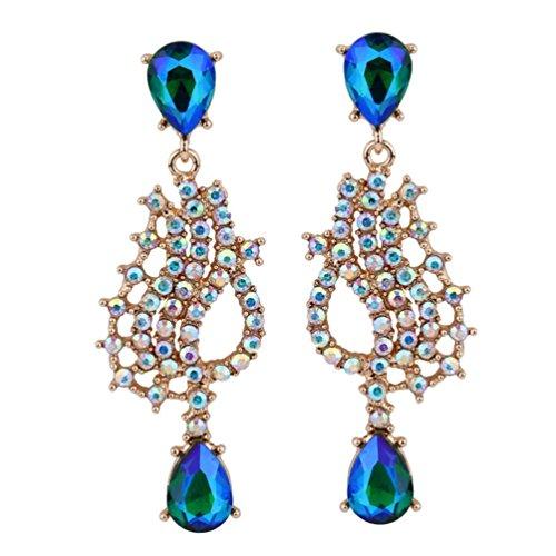 (Luxury Wedding woman for Cystal and Acrylic Bohemin dangle earring)