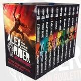 Anthony Horowitz Alex Rider 10 Books Bundle Collection (Russian Roulette, Scorpia Rising, Crocodile Tears, Snakehead, Ark Angel Scorpia, Eagle Strike, Skeleton Key, Point Blanc, Stormbreaker)