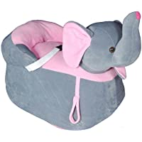 PRACHI TOYS cute Elephant shape soft toy chair/seat for baby sitting