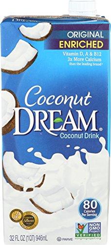 COCONUT DREAM Enriched Original Coconut Drink, 32 fl. oz. (Pack of 12)