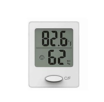 Baldr mini pantalla digital termómetro higrómetro Interior de escritorio Sonreír Instrucciones de cara Confort