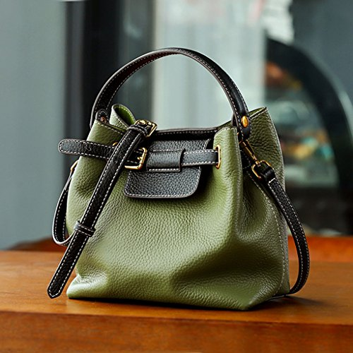 47b59e4e7d secchiello pelle hit di a ondata La prima borsa nuova diagonali color  fashion donna bag LF ...