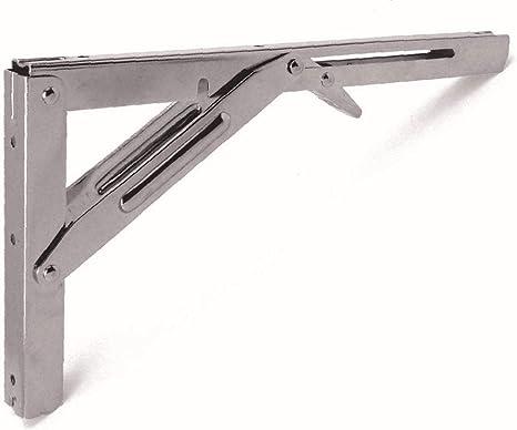 Supporti Pieghevoli Per Tavoli.Supporto Pieghevole A Cerniera Per Gambe Per Tavolo 300 X 27 X 32