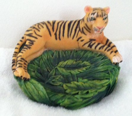 Forest Soap Dish (Tropical Rainforest Soap Dish-Bengal Tiger)