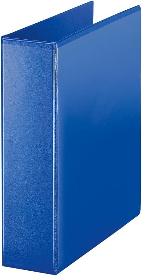 Esselte - Archivador de 4 anillas en D (A4, 60 mm), color azul ...