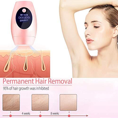 IPL haarentfernungsgerät,IPL-Haarentfernungssystem für Frauen und Männer Dauerhaft schmerzlos für den Heimgebrauch für Ganzkörper-, Gesichts-, Bein-, Bikini- und Achselbereich
