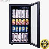 Appliances : COLIBROX--120 Can Beverage Refrigerator Beer Wine Soda Drink Cooler Mini Fridge Glass Door. commercial beverage refrigerator glass door. glass door refrigerators for sale.commercial freezers for sale.
