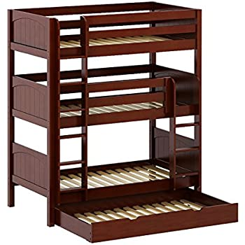 Amazon Com Twin Triple Bunk Bed Kitchen Dining