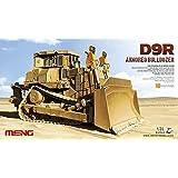 Meng 1:35 Caterpillar D9R Armored Bulldozer Plastic Model Kit #SS002