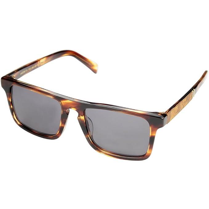 b1fe6ab84b Shwood Govy 2 Sunglasses in Tortoise Acetate   Maple Burl Polarised Grey  WAGTMAGP  Amazon.co.uk  Clothing