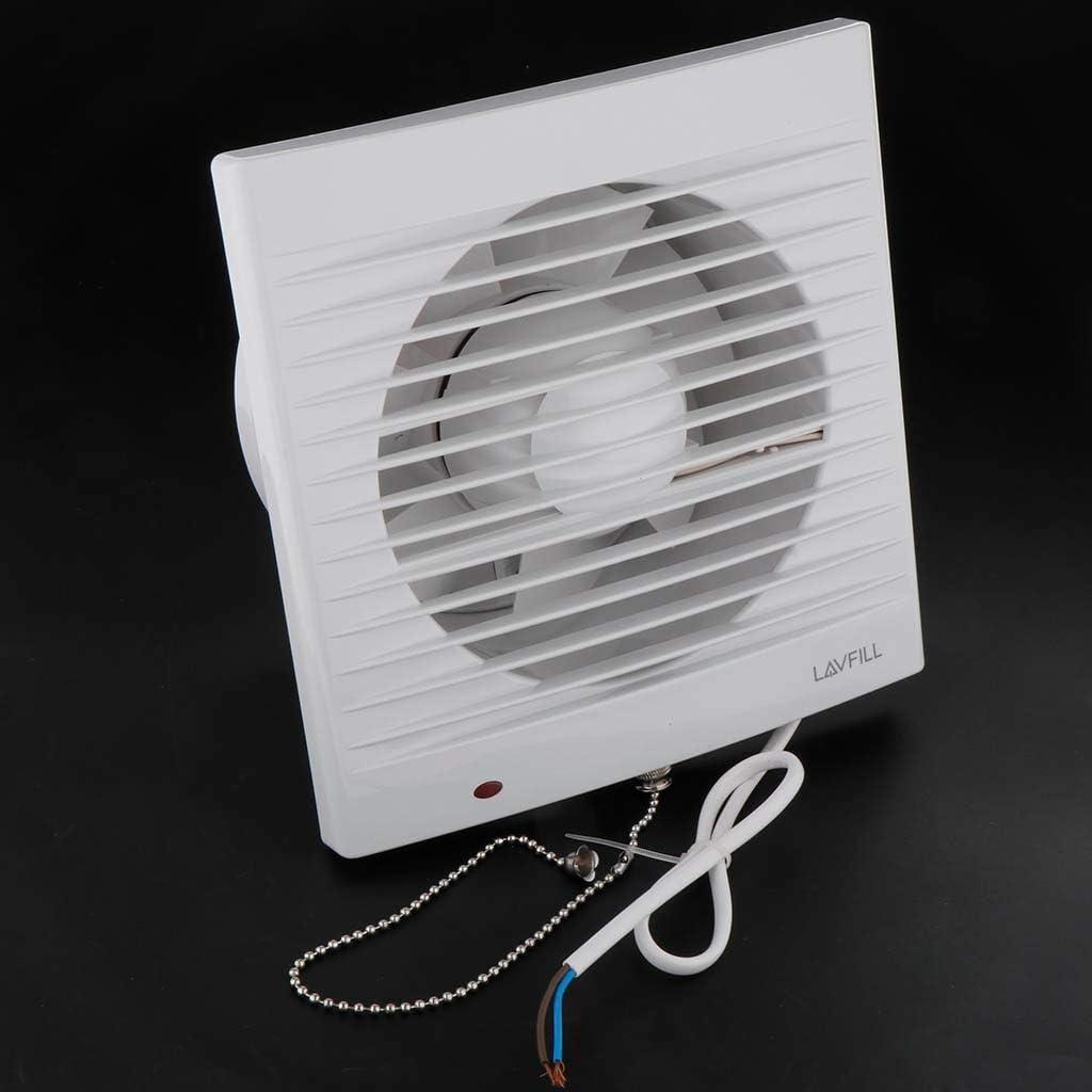 Baño de Techo de Montaje en Pared de ventilación del Aire del Ventilador de ventilación Extintor de baño WC