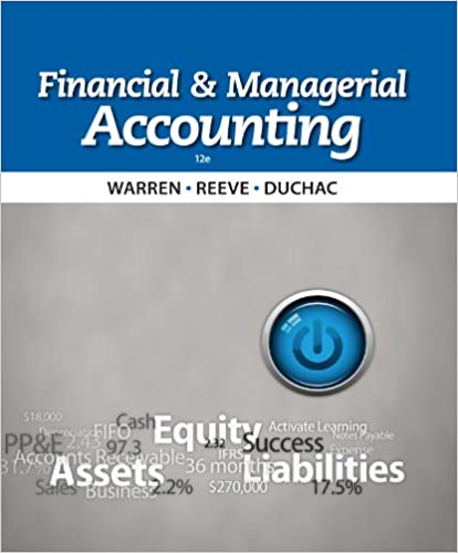 Amazon financial managerial accounting ebook carl s warren amazon financial managerial accounting ebook carl s warren james m reeve jonathan duchac kindle store fandeluxe Gallery