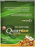 Quest Protein Bars, Peanut Butter Supreme, Pack of 36 Quest -wrfj