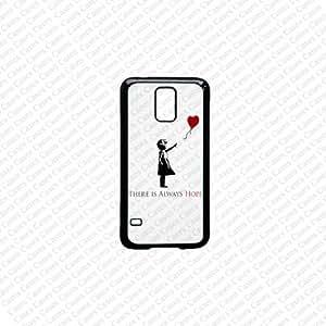 Samsung Galaxy S5 Case, Banksy Samsung Samsung Galaxy S5 Case, Galaxy S5 Cases,Cute Samsung Galaxy S5 Case by runtopwell