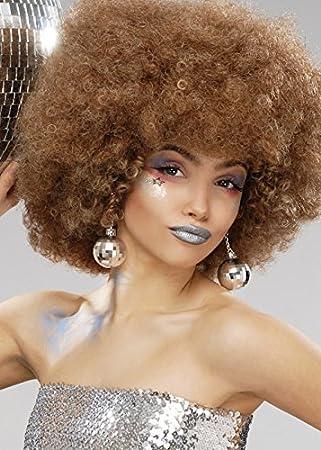 Magic Box Mujer 70s Brown Beyonce Peluca Afro: Amazon.es: Juguetes ...