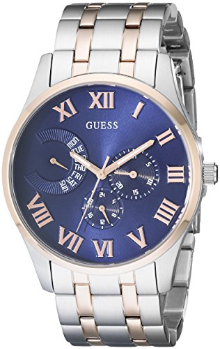 Men's U0607G2 Stainless Steel & Rose Gold-Tone Multi-Function Watch