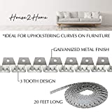 House2Home 20ft Upholstery Metal Flexible Tack