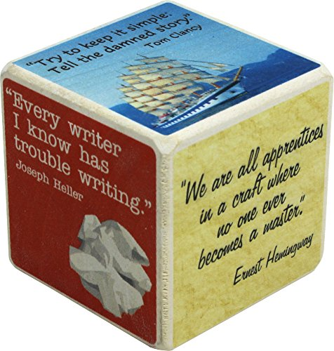 (Thought Cubes - Writers' Block - Made in USA)