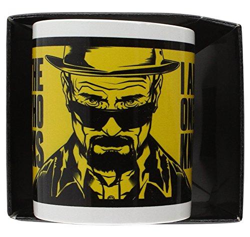"""77 opinioni per Breaking Bad- Tazza in ceramica, 1 pezzo, """"I Am The One Who Knocks"""""""