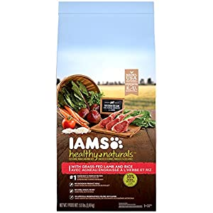 IAMS HEALTHY NATURALS Adult With Lamb and Rice Recipe Dry Dog Food 5.5 Pounds